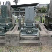 和洋型墓石建立
