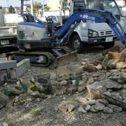 外柵・墓石撤去工事