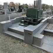 墓石建立工事